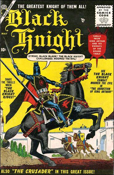 Black Knight (1955) 1-A by Atlas