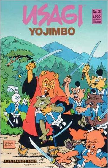 Usagi Yojimbo (1987) 28-A by Fantagraphics