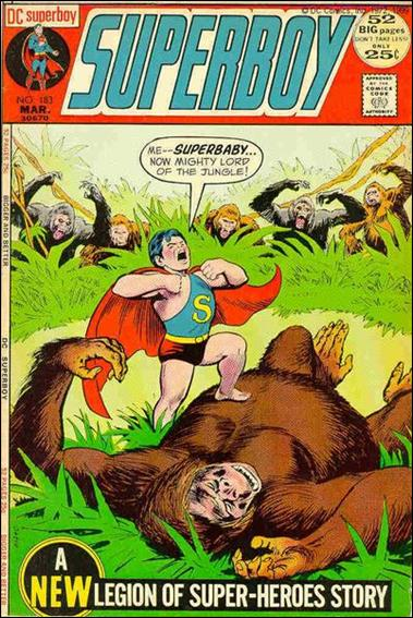 Superboy (1949) 183-A by DC