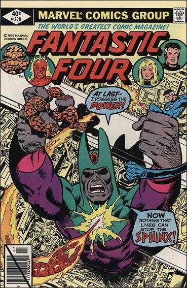 Fantastic Four (1961) 208-A by Marvel