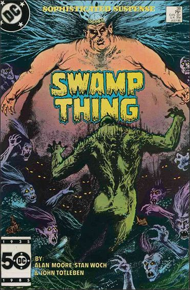 Saga of the Swamp Thing 38-A by DC