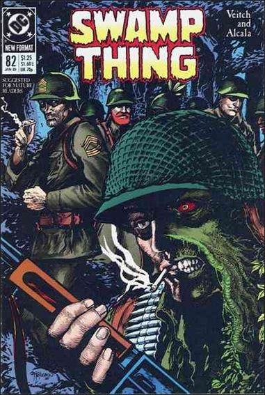Swamp Thing (1986) 82-A by Vertigo