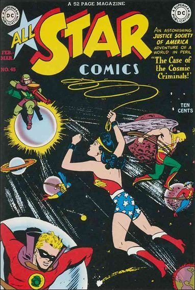 All Star Comics (1940) 45-A by DC