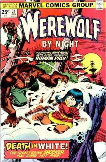 Werewolf by Night (1972) 31-A by Marvel