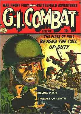 G.I. Combat (1952) 1-A by DC