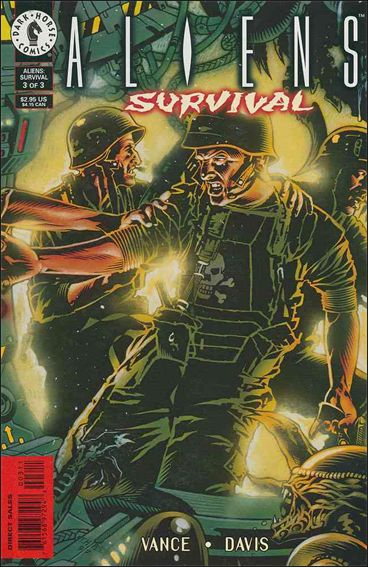 Aliens: Survival 3-A by Dark Horse