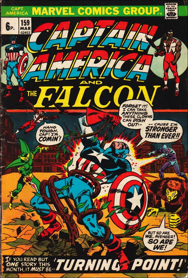 Captain America (1968) 159-B by Marvel