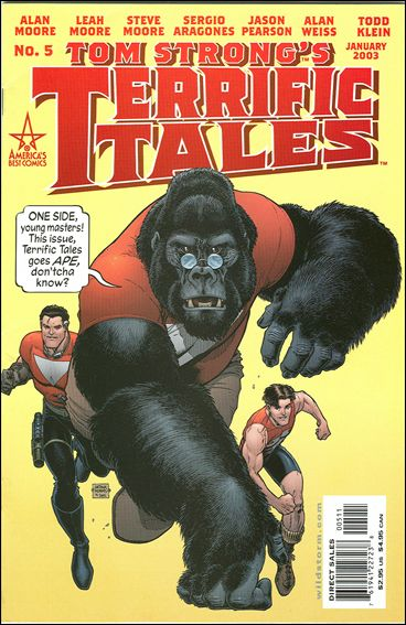 Tom Strong's Terrific Tales 5-A by America's Best Comics