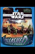 Star Wars: Unleashed Multi-Figure Battle Packs Battle of Kashyyyk - Yoda's Elite Clone Troopers