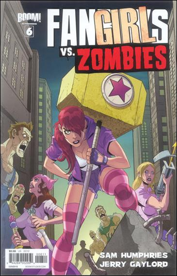 Fanboys vs Zombies 6-B by Boom! Studios