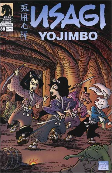 Usagi Yojimbo (1996) 88-A by Dark Horse