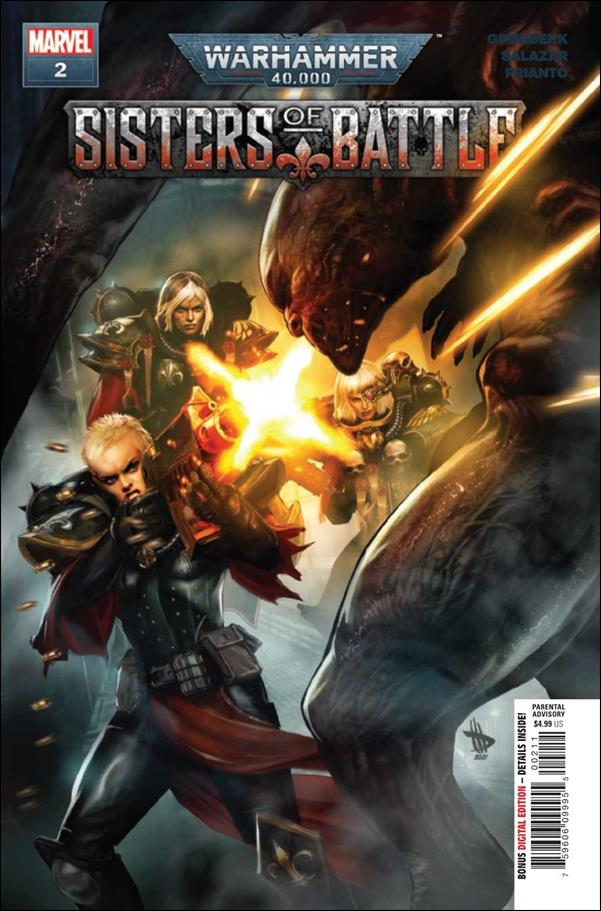 Warhammer 40,000: Sisters of Battle 2-A by Marvel