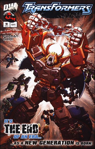 Transformers: Armada (2002) 18-A by Dreamwave