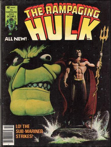 Rampaging Hulk (1977) 5-A by Marvel