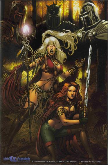 Grimm Fairy Tales (2005) 42-B by Zenescope Entertainment