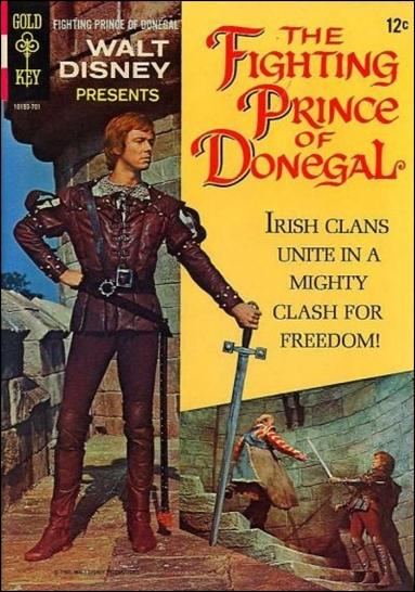 Walt Disney Presents The Fighting Prince of Donegal nn-A by Gold Key