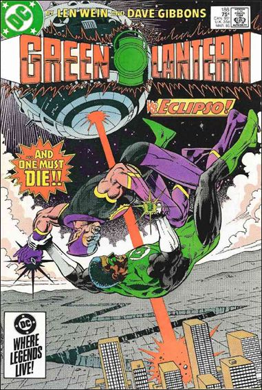 Green Lantern (1960) 186-A by DC