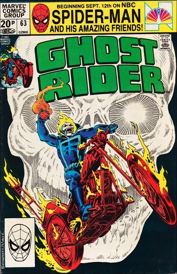Ghost Rider (1973) 63-B by Marvel