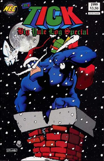 Tick's Big Yule Log Special 1999-A by New England Comics Press (NEC / NECP)