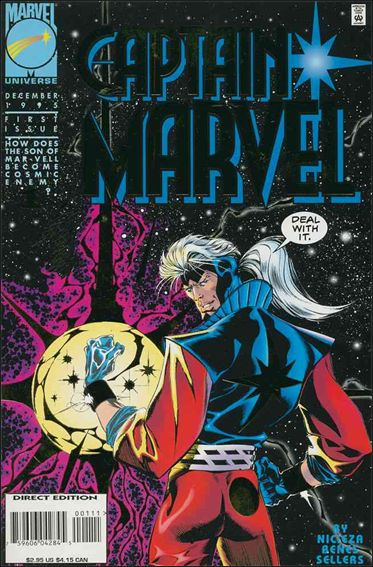 Captain Marvel (1995) 1-A by Marvel