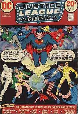 Justice League of America (1960) 107-A by DC