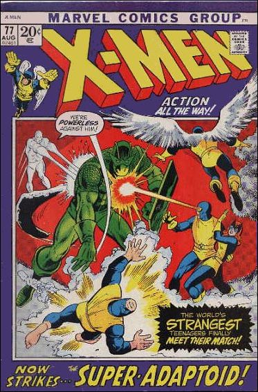 X-Men (1963) 77-A by Marvel