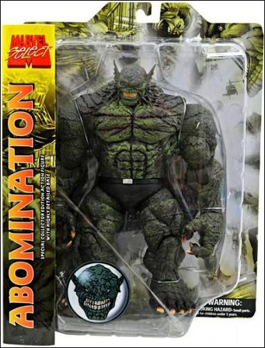 Marvel Select Abomination Re-Issue  by Diamond Select