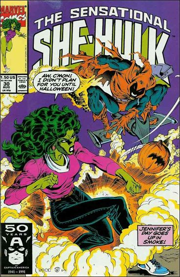 Sensational She-Hulk 30-A by Marvel