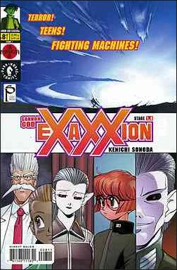 Cannon God Exaxxion 8-A by Dark Horse
