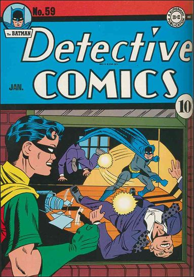 Detective Comics (1937) 59-A by DC