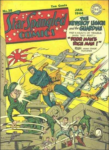 Star Spangled Comics (1941) 28-A by DC