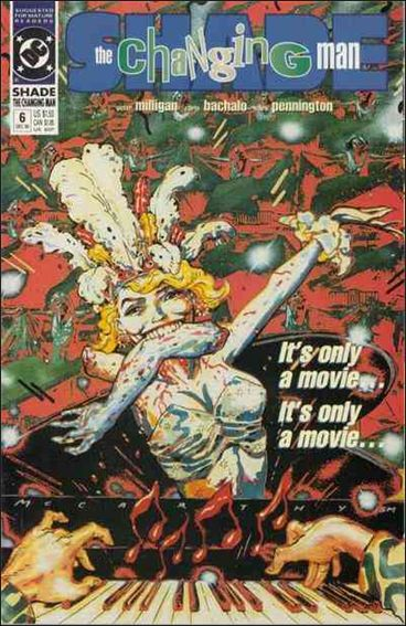 Shade, the Changing Man (1990) 6-A by Vertigo