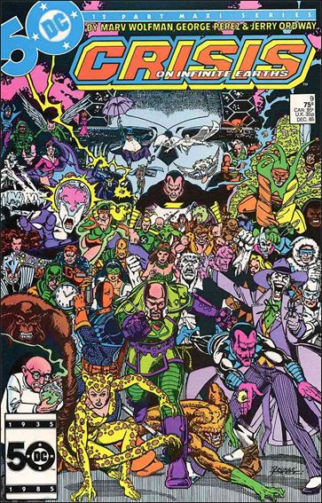 Crisis on Infinite Earths 9-A by DC