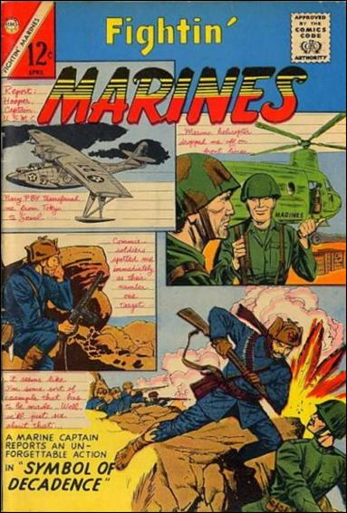 Fightin' Marines (1953) 52-A by Charlton