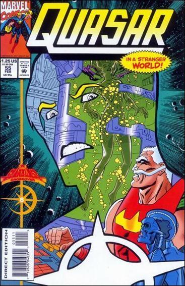 Quasar 55-A by Marvel