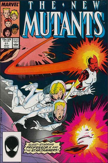 New Mutants (1983) 51-A by Marvel
