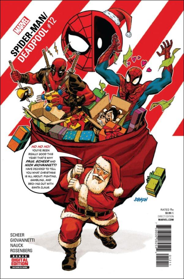 Spider-Man/Deadpool 12-A by Marvel