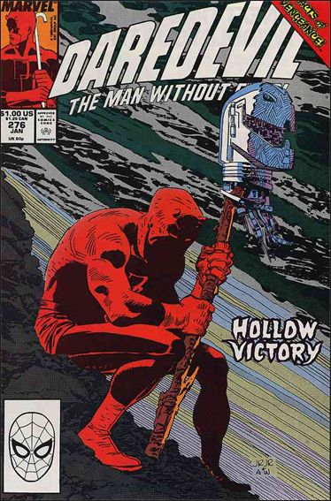 Daredevil (1964) 276-A by Marvel