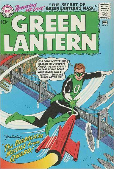 Green Lantern (1960) 4-A by DC