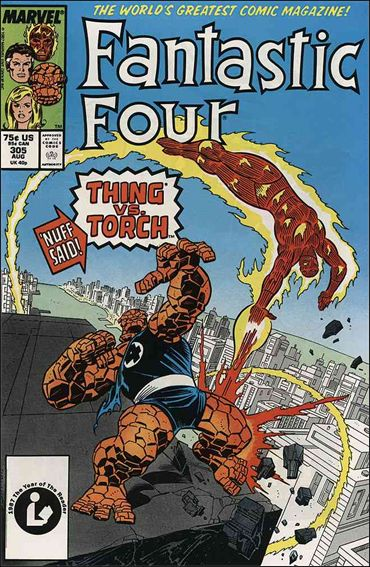 Fantastic Four (1961) 305-A by Marvel
