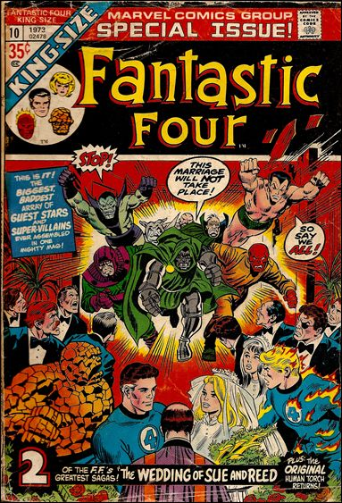 Fantastic Four Annual  10-A by Marvel