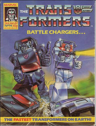 Transformers (UK) 94-A by Marvel UK
