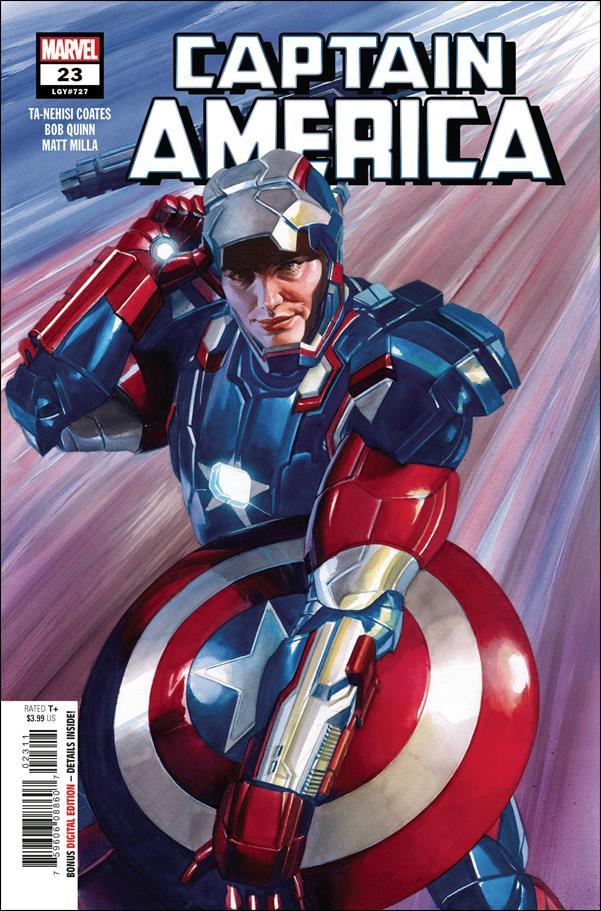 Captain America (2018) 23-A by Marvel