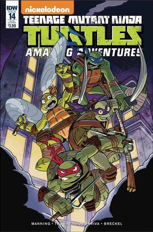 Teenage Mutant Ninja Turtles Amazing Adventures 14-B