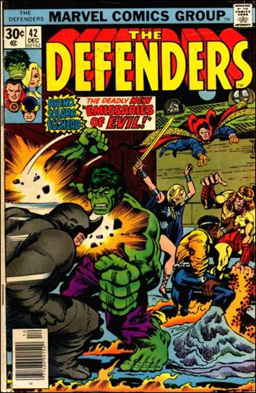 Defenders (1972) 42-A by Marvel