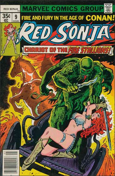 Red Sonja (1977) 9-A by Marvel