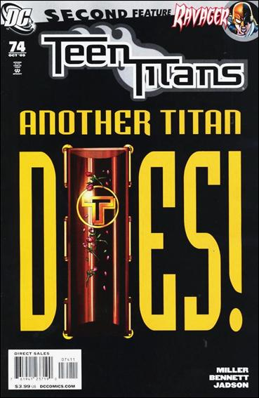 Teen Titans (2003) 74-A by DC