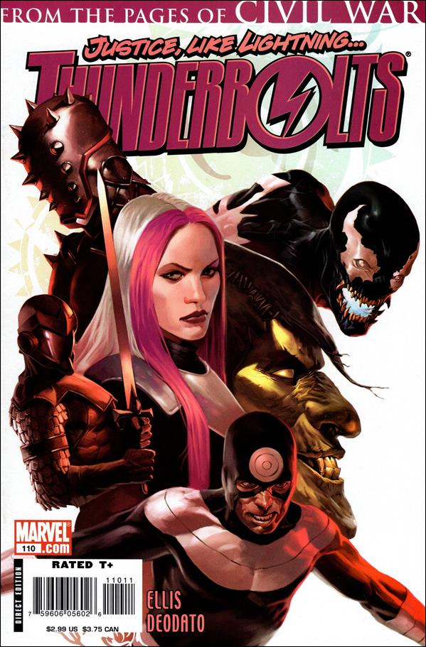 Thunderbolts (1997) 110-A by Marvel