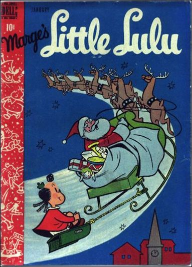 Marge's Little Lulu 7-A by Dell
