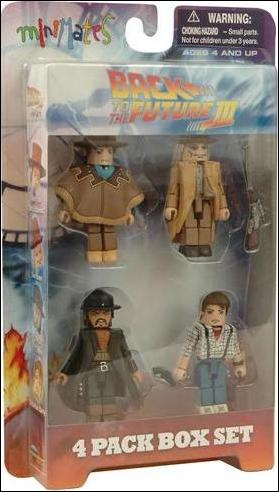 Back to the Future Minimates (Box Sets) Back to the Future III Box Set by Diamond Select
